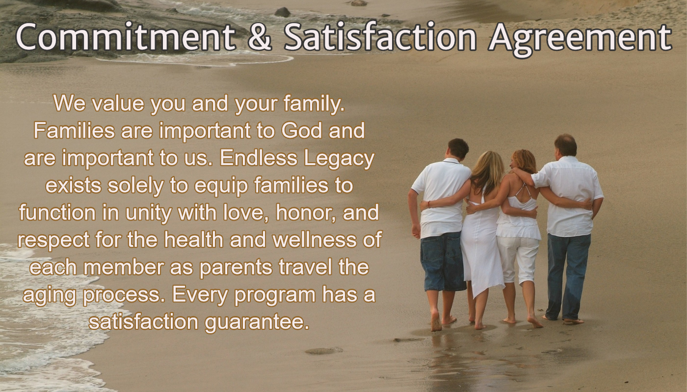 My Commitment Satisfaction Agreement Endless Legacy